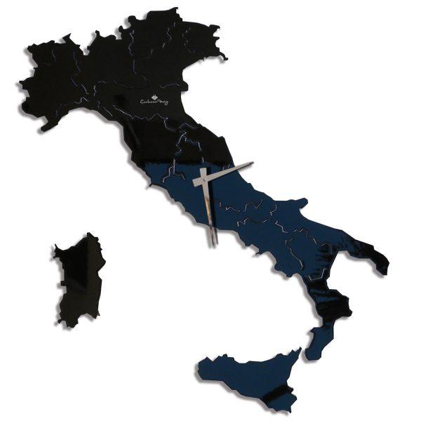 Italia® laccata nero opaco