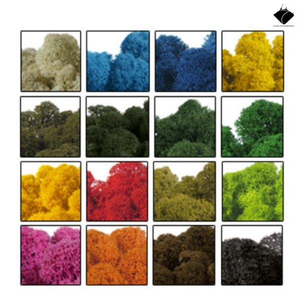 Loghi personalizzati in acciaio+lichene stabilizzato